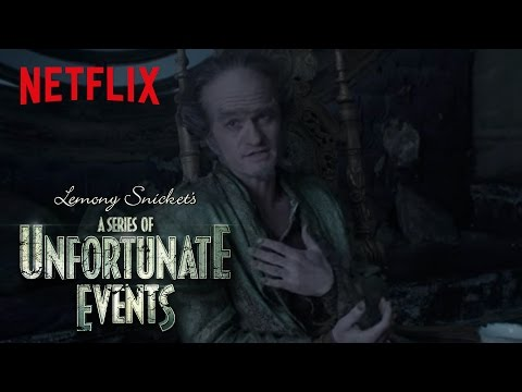 A Series of Unfortunate Events Promo 'Golden Globes Winner: Count Olaf'