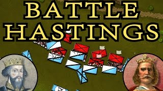 One of the greatest battles in English and European history. Duke William the Bastard lands near Pevensey, Sussex and starts the Norman Conquest of England. Video covers the events leading to the clash between English and Norman forces some kilometres west of Hastings. Support BazBattles on Patreon: https://www.patreon.com/bazbattlesMusic used:BTS Prolog - Kevin MacLeodImpact Allegretto - Kevin MacLeodA Dream Within a Dream - Twin MusicomAll This Scoring Action - Kevin MacLeodImpact Andante - Kevin MacLeodInstinct - BensoundThanks to my generous Patreon supporter Daisho.