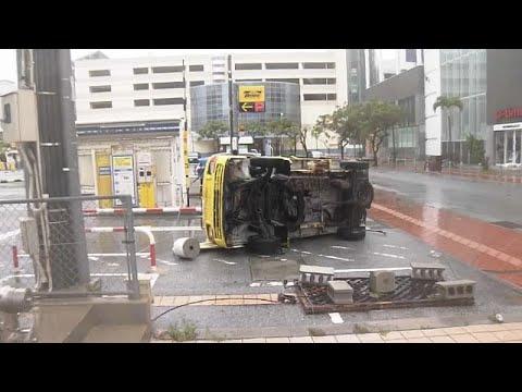 Ιαπωνία: Συναγερμός για τον τυφώνα Τράμι