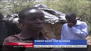 Top KCPE scorer from Pokot County struggles to raise fees for secondary education