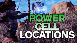 Horizon Zero Dawn: All Power Cell Locations  - Best Way to Play by IGN