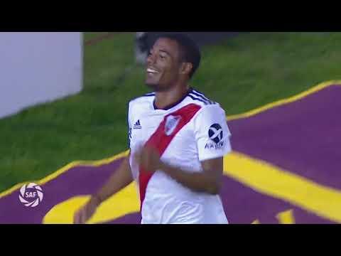 Tercer gol de De La Cruz vs. Aldosivi