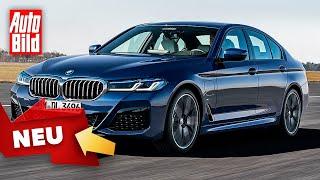 BMW 5er (2020): Facelift - Trailer - Limousine by Auto Bild