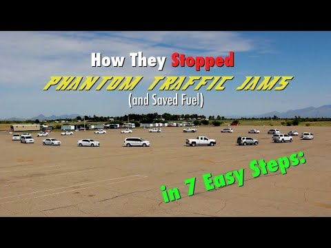 How To Stop Phantom Traffic (and Save Fuel) In Seven Easy Steps!