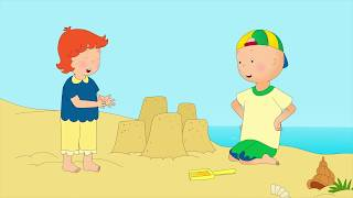 BEST OF 2017 CAILLOU GOES TO THE BEACH | Cartoons for kids | Funny Animated Cartoons for Children