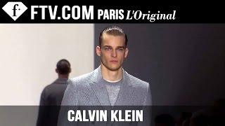 Calvin Klein Men Fall/Winter 2015-16 | Milan Men's Fashion Week | FashionTV