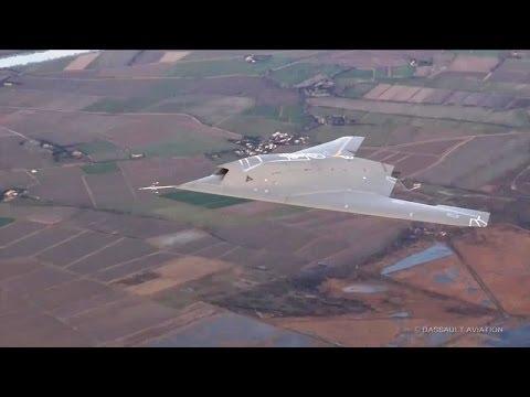 Dassault Aviation - Neuron UCAV Flight Tests 2014 [720p]