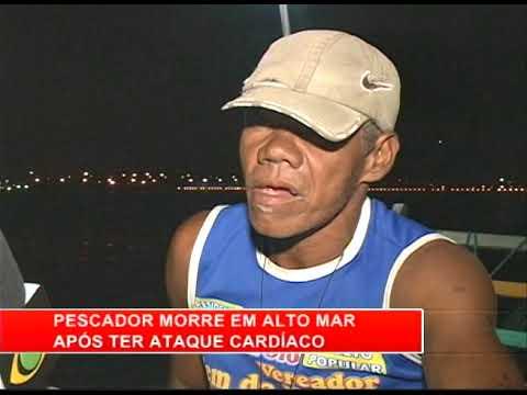 [RONDA GERAL] Pescador morre em alto mar