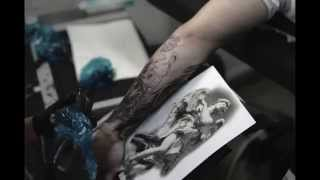 The Art Studio|Tattoos & Art by Rachel van Mechelen|Timelapse|Bernini Angel