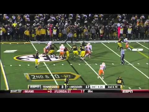 Evan Boehm vs Tennessee 2013 video.