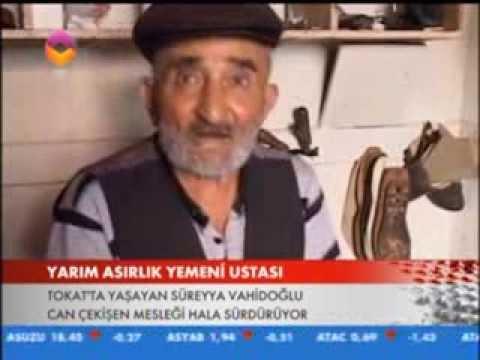 TOKAT'IN SON YEMENİ USTASI TRT ANADOLUDA...