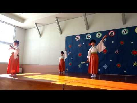 六戸町小松ケ丘幼稚園 お遊戯会 2013 年長組男児