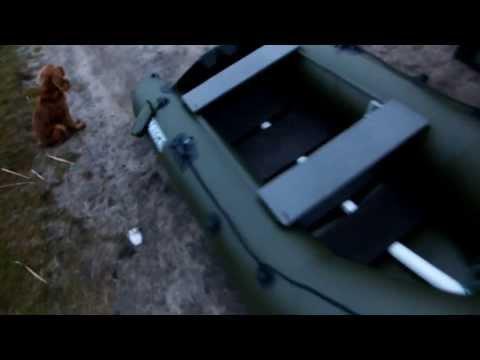 самодельный киль для лодки пвх