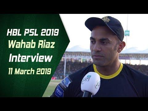 Wahab Riaz Interview | 11 March | HBL PSL 2019 - Thời lượng: 2 phút, 18 giây.