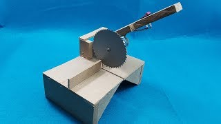 Hello friends! In this new video we will learn how to make a mini homemade table saw, I hope you like it !!!