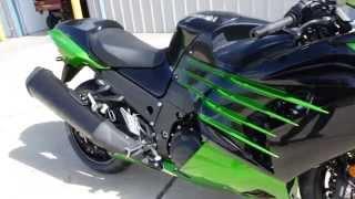 10. $13,499: 2014 Kawasaki ZX14R ABS Ninja Green / Black