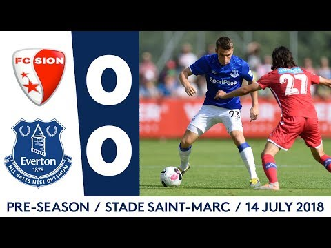 Video: PRE-SEASON HIGHLIGHTS: FC SION 0-0 EVERTON
