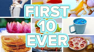 Tasty's First 10 Recipes Ever by Tasty
