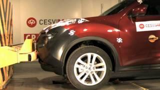 Bumper test delantero Nissan Juke