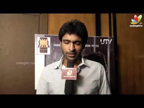 Vikram Prabhu On Ivan Vera mathiri Movie | Interview | Vamsi Krishna, M. Saravanan
