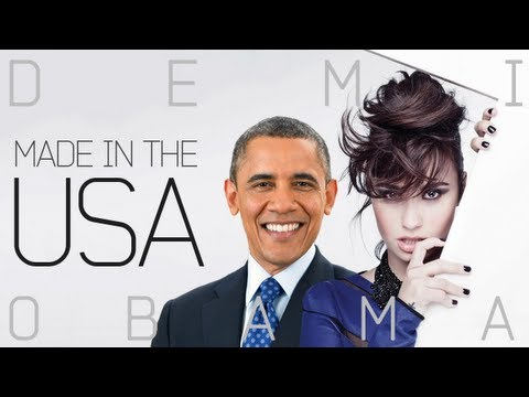 Barack Obama Singing Made in the USA – Demi Lovato