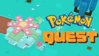Pokémon Quest Endless Boss Wave - Boss Fight Kangaskhan, Vileplume, Victreebel, Venusaur and Zapdos