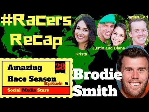 Amazing Race Season 28 Episode 5 Recap With Brodie Smith #RacersRecap