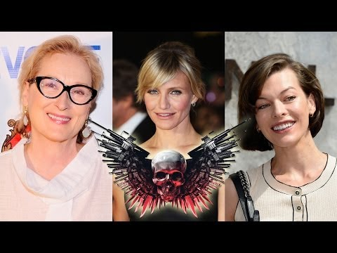 Female EXPENDABLES Movie Eyes Cast