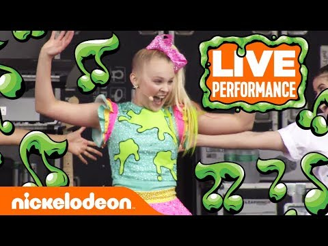 JoJo Siwa Performs 'High Top Shoes' 👟| SlimeFest | Nick (видео)