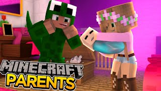 Minecraft Parents : LITTLE KELLY AND LITTLE LIZARD'S BABY #1