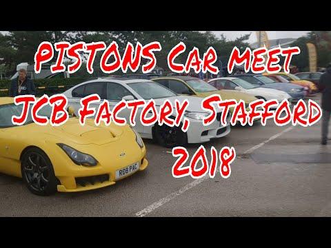 @PISTONS CAR MEET, STAFFORD UK 2018