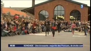 Glam Run Maisons De Mode 2013, La Course à Talons Aiguilles De Lille Sur France 3