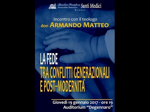 INCONTRO CON IL TEOLOGO DON ARMANDO MATTEO
