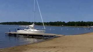 Detroit Lakes (MN) United States  City pictures : Detroit Lakes Minnesota. Very nice lake and beach too. Part 1.