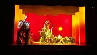 Be Prepared, The Lion King, Singapore