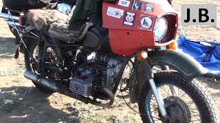7. Easy Rider's URAL solo motorcycle from eighties. CRIMEA