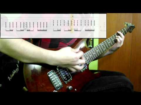 Download Video Muse - Hysteria (Guitar Cover) (Play Along Tabs In Video)