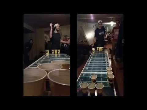 Slow Motion Beer Pong