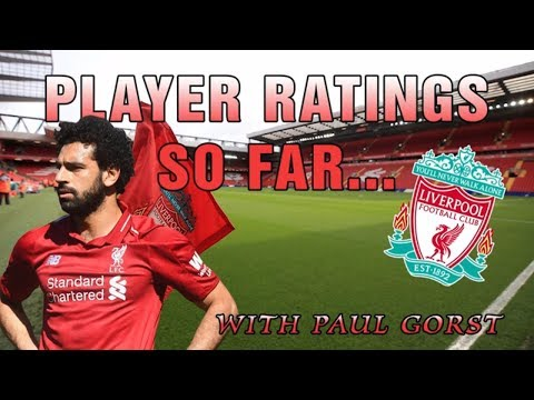 Liverpool's Player Ratings For The Season So Far