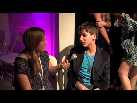 "Santa Paws 2: Josh Feldman Interview At Taylor Hay's ""Star For A Night"" Celebration"