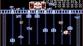 Donkey Kong Jr: Expert (Atari 7800 Emulated) by oyamafamily