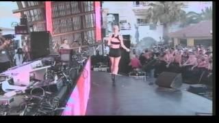 Iggy Azalea performs Beat Down at Radio 1 Live in Ibiza 2012