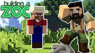 I'm Building A Zoo In Minecraft! - NOT Searching For Rabbits! - EP16