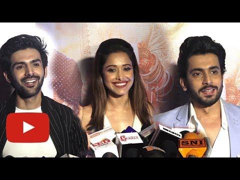 Kartik Aryan, Nushrat Bharucha and Sunny Singh REA