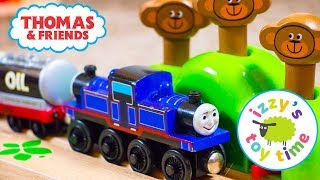 Thomas and Friends | Thomas Train Hape Monkey Track with Mighty Mack! Fun Toy Trains for Kids