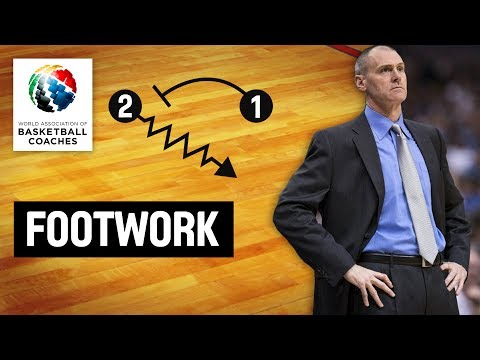 Footwork - Rick Carlisle Dallas Mavericks - Basketball Fundamentals