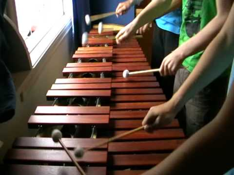 Zelda Ocarina of Time Gerudo Valley on Marimba