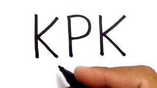 Download Video mengubah huruf KPK jadi gambar yg keren dan mengejutkan MP3 3GP MP4