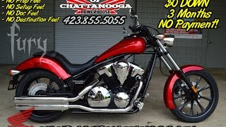 7. 2015 Honda Fury 1300 Video Review of Specs & Walk Around - Motorcycle SALE @ Honda of Chattanooga TN