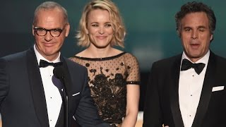 Spotlight Takes Home Best Movie Cast At SAG Awards 2016